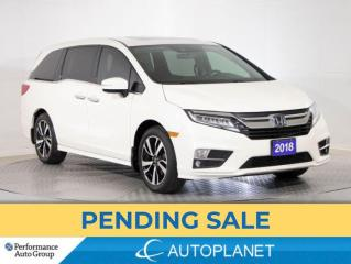 Used 2018 Honda Odyssey Touring, 8-Seater, Navi, Sunroof, Cooled Seats,DVD for sale in Brampton, ON