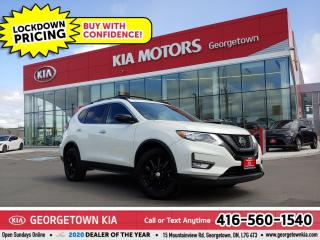Used 2018 Nissan Rogue SV MIDNIGHT | NAV | BU CAM | PANO ROOF | HTD SEATS for sale in Georgetown, ON