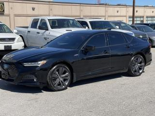 Used 2021 Acura TLX 2021 Acura TLX TECH A A-Spec SH-AWD for sale in Brampton, ON