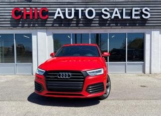 Used 2017 Audi Q3 TECHNIK|S-LINE|AWD|ONE OWNER|NO-ACCIDENT|NAVI|PANO|REAR CAM for sale in Richmond Hill, ON