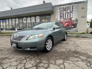 Used 2007 Toyota Camry HYBRID Leather, Sunroof, Heated Seats for sale in Barrie, ON