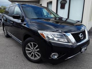 Used 2014 Nissan Pathfinder SL 4WD - LEATHER! SUNROOF! BACK-UP CAM! 7 PASS! for sale in Kitchener, ON