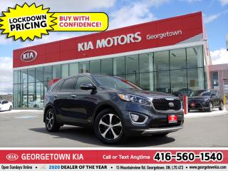 Used 2018 Kia Sorento EX AWD | LTHR | BU CAM | HTD SEATS | B/T | 54 K for sale in Georgetown, ON