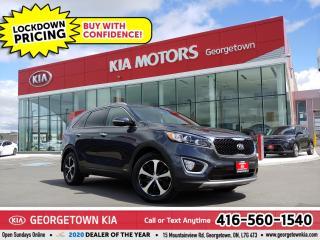 Used 2018 Kia Sorento EX AWD | LTHR | BU CAM | HTD SEATS | B/T | 54 K for sale in Georgetown, ON