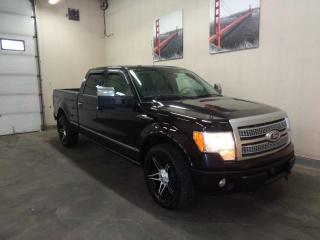 Used 2010 Ford F-150 SuperCrew-PLATINUM-ONE OWNER TRUCK-WELL TAKING CARE OFF for sale in Edmonton, AB