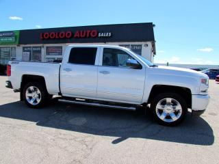 Used 2016 Chevrolet Silverado 1500 LTZ Plus Z71 Crew Cab 4WD 5.3L V8 Navi Camera Certified for sale in Milton, ON