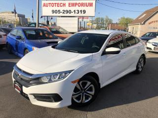 Used 2016 Honda Civic LX Prl White Navigation/Camera/Bluetooth for sale in Mississauga, ON