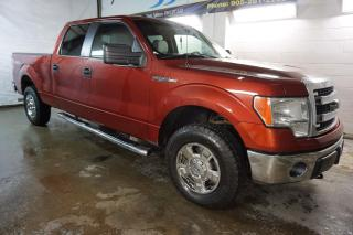 Used 2014 Ford F-150 V8 XLT 4X4 SUPER CREW CERTIFIED 2YR WARRANTY BLUETOOTH ALLOYS ENGINE R START BED LINER for sale in Milton, ON