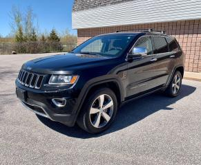 Used 2014 Jeep Grand Cherokee Limited | 4X4 | NAVI | BACKUP CAM | for sale in Barrie, ON
