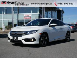Used 2018 Honda Civic COUPE Touring  - Navigation -  Leather Seats for sale in Kanata, ON