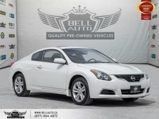Used 2012 Nissan Altima 2.5 S, COUPE, REARCAM, LEATHER, SUNROOF, BLUETOOTH for sale in Toronto, ON