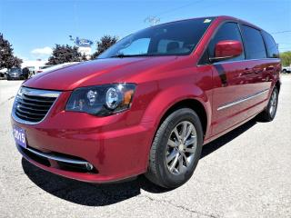 Used 2015 Chrysler Town & Country S | Navigation | DVD | Heated Seats for sale in Essex, ON