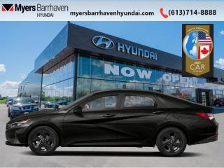 New 2021 Hyundai Elantra Preferred w/Sun & Tech Package IVT  - $152 B/W for sale in Nepean, ON