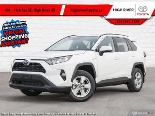 New 2021 Toyota RAV4 Hybrid XLE  - Sunroof for sale in High River, AB