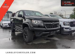 Used 2020 Chevrolet Colorado 4WD ZR2  Diesel/ Leather/ Backup/ Lined Box/ Accident Free for sale in Surrey, BC