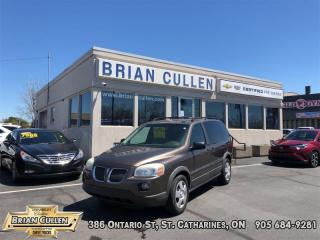 Used 2007 Pontiac Montana W/1SA  AS-TRADED, AS-IS! YOU CERTIFY YOU SAVE! FINANCING NOT AVAILABLE ON AS-IS, AS-TRADED VEHICLES!   MISSING 3rd ROW SEAT for sale in St Catharines, ON