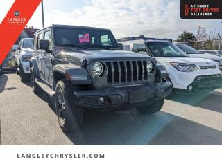 Used 2019 Jeep Wrangler Unlimited Sahara  Navi/ Backup Camera/ Low KM/ Single Owner for sale in Surrey, BC