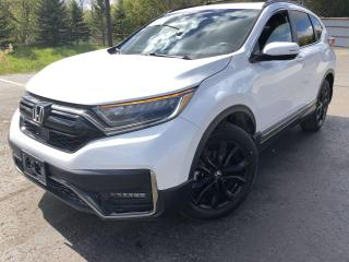 Used 2020 Honda CR-V Black Edition AWD for sale in Cayuga, ON