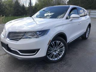 Used 2018 Lincoln MKX RESERVE AWD for sale in Cayuga, ON