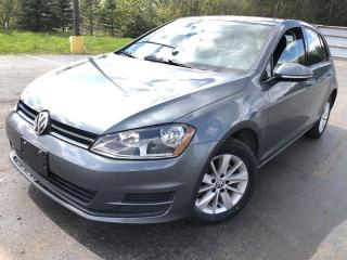 Used 2017 Volkswagen Golf TRENDLINE for sale in Cayuga, ON