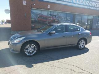 Used 2011 Infiniti G37 X Luxury for sale in Mississauga, ON