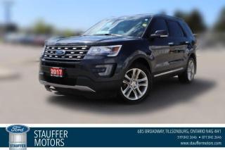 Used 2017 Ford Explorer LIMITED for sale in Tillsonburg, ON