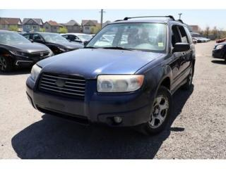 Used 2006 Subaru Forester 4dr 2.5 X Auto for sale in Whitby, ON