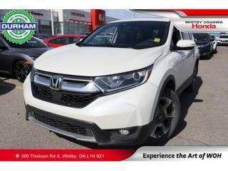 Used 2017 Honda CR-V EX   CVT   Power Moonroof for sale in Whitby, ON