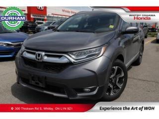 Used 2018 Honda CR-V Touring   CVT   Navigation, Power Moonroof for sale in Whitby, ON