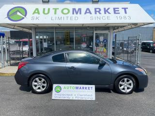 Used 2008 Nissan Altima 2.5 S Coupe VERY NICE! WELL MAINTIANED! FREE BCAA & WNRTY! IN HOUSE FINANCE IT! for sale in Langley, BC