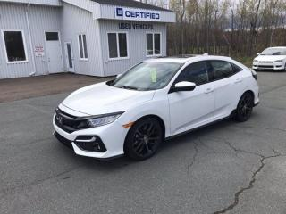 Used 2020 Honda Civic Hatchback Sport Touring for sale in Amherst, NS