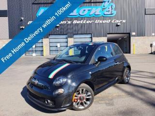 Used 2016 Fiat 500 Turbo, Sunroof, Leather, Alloy Wheels, Keyless Entry, Bluetooth, Cruise Control and more! for sale in Guelph, ON
