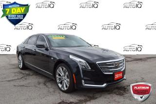 Used 2016 Cadillac CT6 3.0L Twin Turbo Platinum Turbo Luxury Sedan for sale in Grimsby, ON