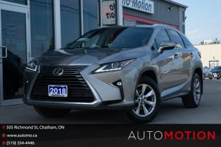 Used 2018 Lexus RX 350 for sale in Chatham, ON
