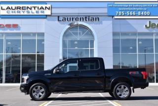 Used 2018 Ford F-150 LARIAT!! HEATED AND COOLED SEATS!! TRAILER BRAKE!! 4X4!! for sale in Sudbury, ON