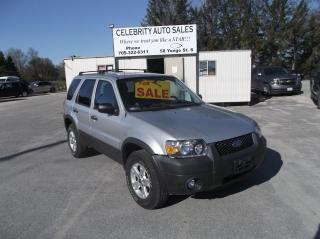 Used 2007 Ford Escape AWD XLT for sale in Elmvale, ON