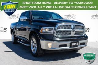 Used 2018 RAM 1500 Laramie ECO DIESEL QUAD CAB for sale in Innisfil, ON