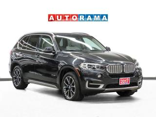 Used 2017 BMW X5 xDrive35i Navigation Leather Panoramic Sunroof for sale in Toronto, ON