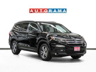 Used 2016 Honda Pilot EX-L AWD Navigation Leather Sunroof Bcam DVD for sale in Toronto, ON