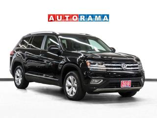 Used 2018 Volkswagen Atlas Highline Leather Panoramic Sunroof Backup Cam for sale in Toronto, ON