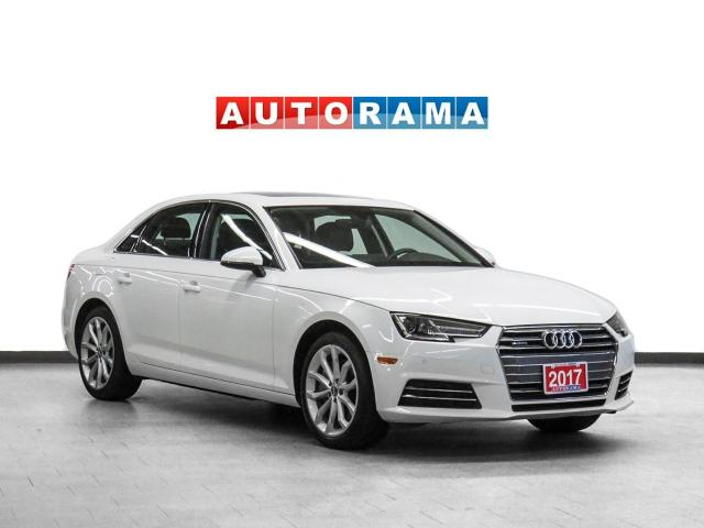 2017 Audi A4 Progressiv Quattro Nav Leather Sunroof Bcam
