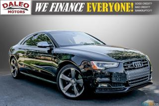 Used 2014 Audi S5 PREMIUM / LOW KMS / ACCIDENT FREE for sale in Hamilton, ON