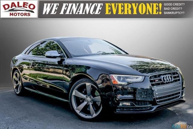 2014 Audi S5 PREMIUM / LOW KMS / ACCIDENT FREE Photo1