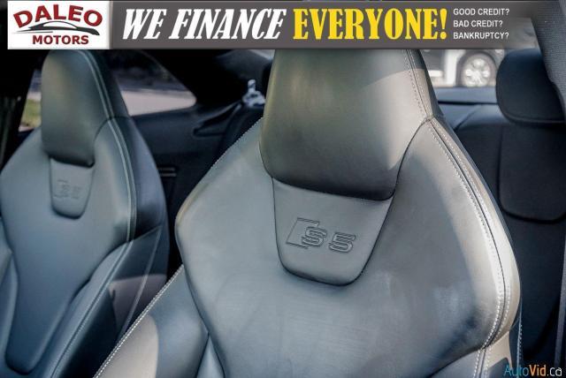 2014 Audi S5 PREMIUM / LOW KMS / ACCIDENT FREE Photo15