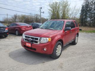 Used 2010 Ford Escape XLT LEATHER LOW KMS 1 OWNER CERTIFIED for sale in Stouffville, ON