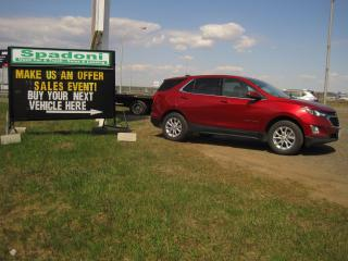 Used 2020 Chevrolet Equinox Make us an offer for sale in Thunder Bay, ON