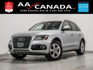 Used 2017 Audi Q5 2.0T | PANO ROOF | NAVI | LOW KM | for sale in North York, ON