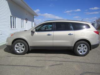 Used 2011 Chevrolet Traverse 2LT for sale in Melfort, SK