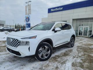 New 2021 Hyundai Santa Fe PREFERREDTREND/SUNROOF/LEATHER/APPLE CARPLAY/PROXY KEY/HEATED FEATURES for sale in Edmonton, AB
