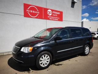 Used 2016 Chrysler Town & Country TOURING/LEATHER/BACK UP CAMERA/POWER TAILGATE/POWER SLIDING DOORS for sale in Edmonton, AB